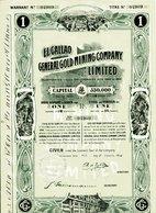 EL CALLAO GENERAL GOLD MINING COMPANY, Limited (Venezuela) - Mines