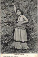 Carte POSTALE  Ancienne De SAMOA - Femme Nue - Samoa