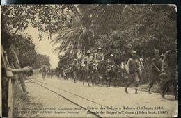 Carte Illustrée  N° 12. Vue: 47: Entre Des Belges à Tabora (19 Sept. 1916)  (obl. B.C.P.  ???) - Ganzsachen