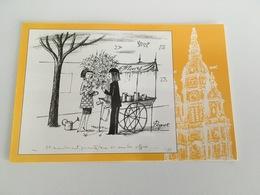 """Carte Postale """"Tour De Saint Amand """" """" Les Amoureux De Peynet """" - Advertising"""