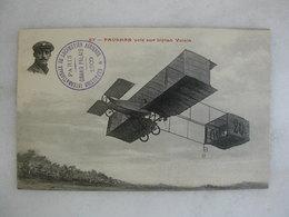 AVIATION - Paulhan Vole Sur Biplan Voisin - Flieger