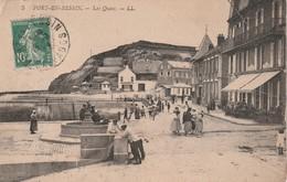 14 Port En Bessin. Les Quais - Port-en-Bessin-Huppain