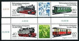 Alemania Oriental Nº 2499A/500A (unidos) Nuevo - [6] Democratic Republic