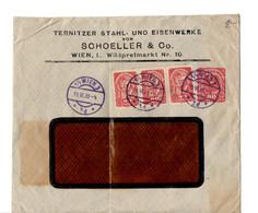 B18   1920 Lettre Entete  De Société A Fenetre - Briefe U. Dokumente