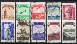 Serie Completa Aereo MARRUECOIS Español 1938. Edifil Num 186-195 **/*/º - Maroc Espagnol