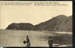 Carte Illustrée  N° 12. Vue: 25: Le Lac Kivu, Vu Du Mont N'Goma   (obl. Kigoma  31/05/1918) - Ganzsachen