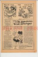 2 Scans Humour Ancien De 1948 Cartomancienne Auberge De Mr Ley à Combe-Martin Devonshire Jeu De Cartes  226CH32 - Vieux Papiers