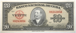 Cuba - 20 Pesos - 1958 - PICK 80b - SPL - Cuba