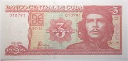 Cuba - 3 Pesos - 2006 - PICK 127c - NEUF - Cuba