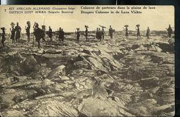 Carte Illustrée  N° 12. Vue: 7. Colonne De Porteurs Dans La Plaine De Lave.  (obl. 10/05/1918) - Ganzsachen