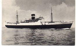 TRANSPORT 475 : Le Djebel Dira , Cie De Navigation Mixe Algérie - Tunisie - Steamers