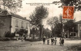 SOUVENIR DE PRAYSSAS . ECOLE DES FILLES - Autres Communes