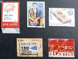 2003. Lote De Sellos Usados. - 1931-Hoy: 2ª República - ... Juan Carlos I