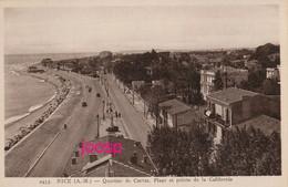 PHOTO : Nice, Quartier De Carras, Plage Et Pointe De Californie,  Photo Of Old Postcard, 2 Scans - Sports
