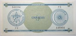 Cuba - 5 Pesos - 1985 - PICK FX13a.1 - NEUF - Cuba
