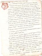 Papier Timbré De Dimension Tarif Du 11 Nivose An IV - Revenue Stamps