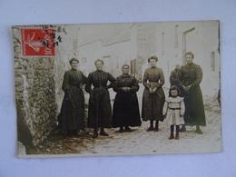 CPA A Retrouver Photo De Femmes Et Fillette 1900 Animée TBE - Photographs