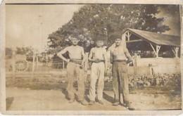 ** Real Photo / Carte Photo 1926 ** LIBAN Lebanon - BEYROUTH Travailleurs ( à Identifier Précisement ... ) Format CPA - Libanon