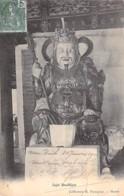 VIETNAM Viet Nam ( Tonkin ) Sujet Boudhique / Buddhist Subject / Buddhistisches Thema / CPA 1906 - ASIE Asia Asien Azië - Vietnam
