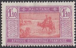 Mauritanie 1913-1944 - N° 59 (YT) N° 58 (AM) Neuf *. - Mauritania (1906-1944)