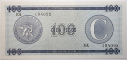 Cuba - 100 Pesos - 1985 - PICK FX25 - NEUF - Cuba