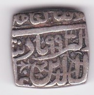 Inde Mughal Empire Silver Rupee HA 993 Akbar Ahmedabad 1556-1605 , En Argent. - Indien