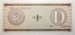 Cuba - 1 Peso - 1985 - PICK FX32 - NEUF - Cuba