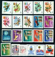 1980 Bird,Kepler,Mathematics,Astronomy,Bee,Wonders,Hungary,MNH Yearset=57st+6s/s - Hongarije