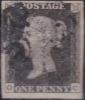 Great Britain      .     Yvert  1  (2 Scans)      .         O      .       Cancelled .   /   .    Oblitéré - 1840-1901 (Victoria)