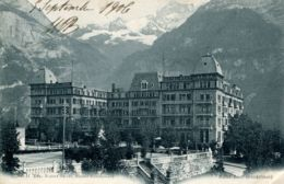 N°9022 -cpa Hôtel Baer Grindelwald - BE Berne
