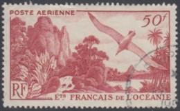 Océanie 1931-1956 - Poste Aérienne N° 26 (YT) N° 26 (AM) Oblitéré. - Oceanía (1892-1958)