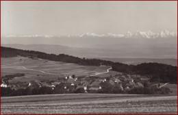 Lignières * Gesamtansicht, Alpen * Schweiz * AK2783 - NE Neuenburg