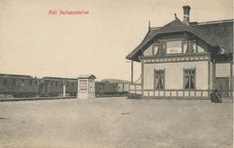 Norge Hell Railwaystation Gare Train  Eneret Mittet - Norvège
