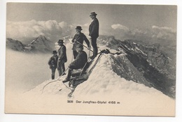 JUNGFRAU-GIPFEL Bergsteiger - BE Berne