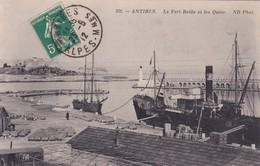 06-Antibes Le Fort Reille & Les Quais.. - Antibes