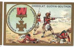 CHROMO ANCIEN  - Médaille Ordre Royal De Victoria (ANGLETERRE) - Pub Chocolat Guérin-Boutron - Autres