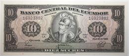Équateur - 10 Sucres - 1983 - PICK 114b.9 - NEUF - Ecuador