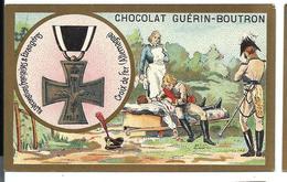 CHROMO ANCIEN  - Médaille La CROIX De FER (ALLEMAGNE) - Pub Chocolat Guérin-Boutron - Autres