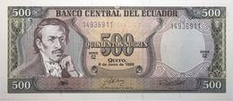 Équateur - 500 Sucres - 1988 - PICK 124 Aa.3 - NEUF - Ecuador