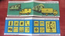 DDR: 5 Markenheft-Hüllen Ohne Briefmarken - 1 Hülle Mit 2 Marken 10 Pf Karl Maron - [6] Oost-Duitsland