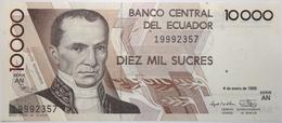Équateur - 10000 Sucres - 1996 - PICK 127d.2 - NEUF - Ecuador
