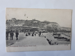 Carte Postale - The Esplanade Dover Showing Dover Castle Vers L'Hotel De Metz à Sierck En Lorraine ... Lot110 . - Dover