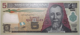 Guatemala - 5 Quetzales - 2012 - PICK 122c - NEUF - Guatemala