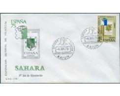 Ref. 350919 * MNH * - SPANISH SAHARA. 1975. WORLD EXHIBITION OF SPANISH PHILATELY 95 . EXPOSICION MUNDIAL DE FILATELIA - Sahara Spagnolo