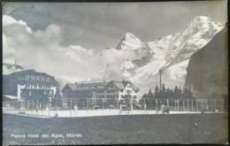 Tennisplatz Des PalaceHotel Des Alpes In Mürren Schweiz - Tennis