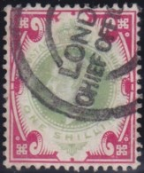 Great Britain   .  Yvert   .  117       .   O    .    Cancelled .   /   .   Oblitéré - Gebraucht