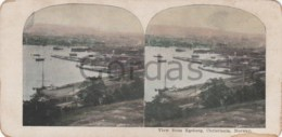 Norway - Christiania - Oslo - View From Egeberg - Stereoscopic Photo - 175x90mm - Stereoscoop