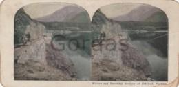 Norway - Eldfjord - Carriage - Stereoscopic Photo - 175x90mm - Stereoscoop