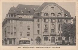 Suisse - BERN - Monbijou Hôtel - Gesellschaftshaus Der Typographia - BE Berne