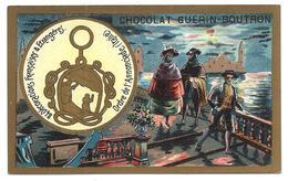 CHROMO ANCIEN  - Médaille Ordre De L'ANNONCIADE (Italia) - Pub Chocolat Guérin-Boutron - Autres